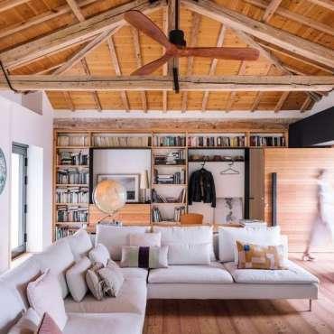 La transformation d'une étable espagnole en maison de vacances
